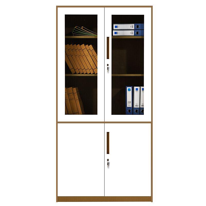 Office Equipment Swing 4 Door KD Office Metal Storage Cabinet Design