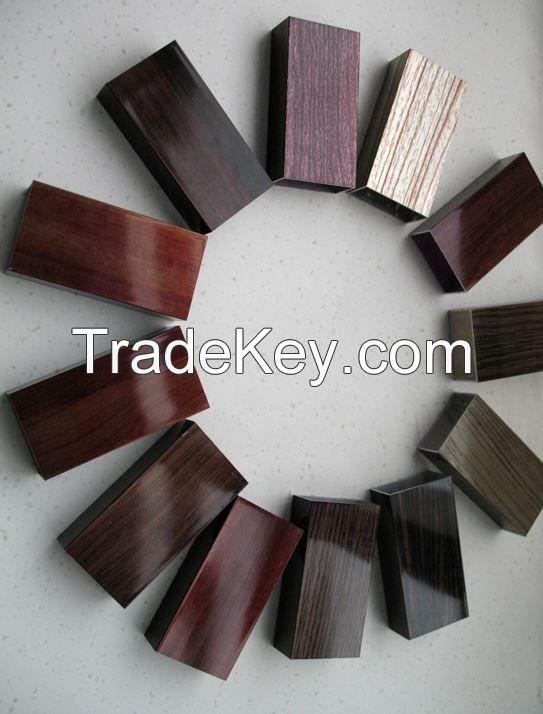 Wooden Transfer Elegant Aluminum Profiles