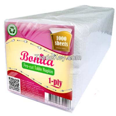 Bonita Pre-cut Table Napkin