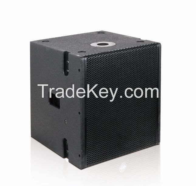 dual 5-inch mini line array speaker and 12-inch active subwoofer coaxial sound system combination