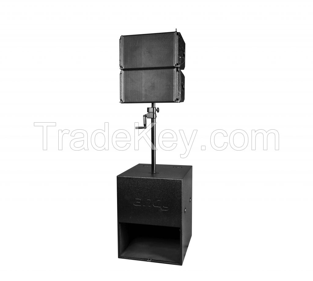 Combination packages professional audio system active line array speaker
