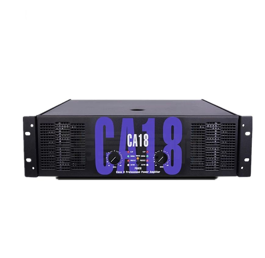 Professional stage amplifier, outdoor party commercial performance audio amplifier