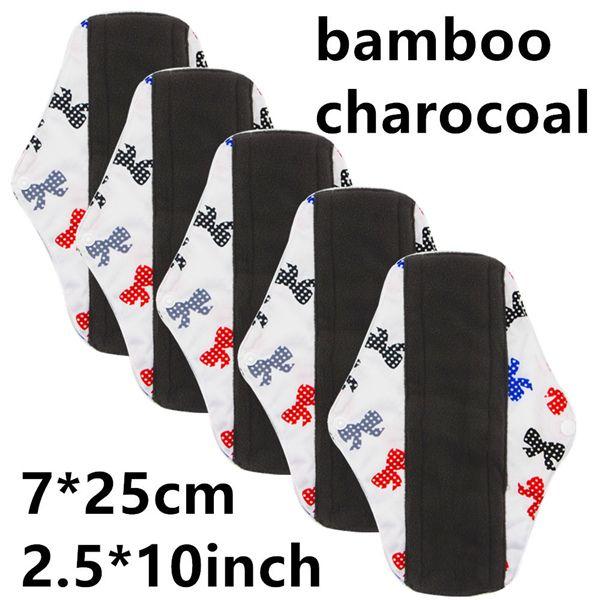 Sanitary Reusable Cloth Menstrual Pad Washable Sanitary Napkins