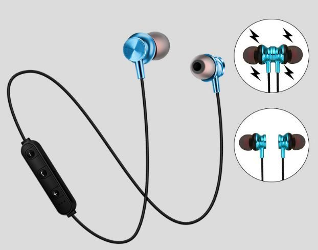 Magnetic bluetooth sports headset  JGS10041