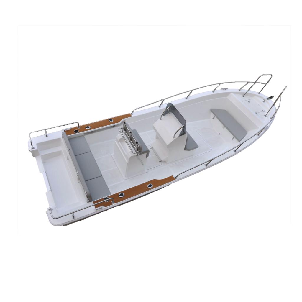 Liya 7.6m Panga style fishing boat with motor
