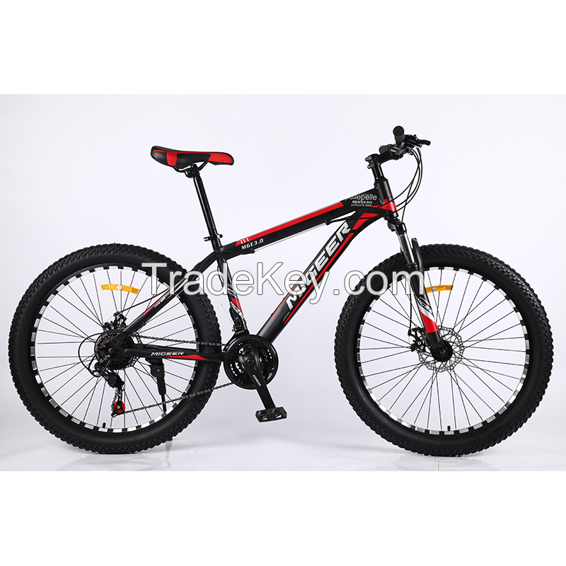 MIAI 29inch Carbon steel Mountain Bycicle/Road Bikes/high quality carbon steel bicycles