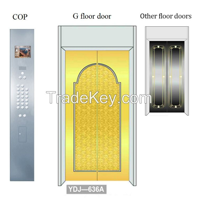 Safety and Energy Saving Safety Passenger Elevator Passenger Lift passenger lift parts
