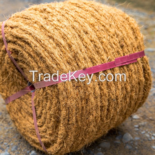 Coir rope/Coconut rope - Friendly with environment - Diameter 16-18mm