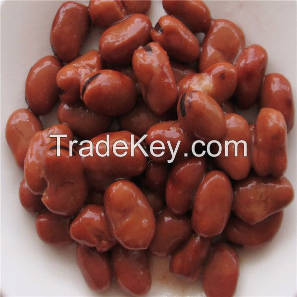 Supreme quality and brine of process canned broad bean