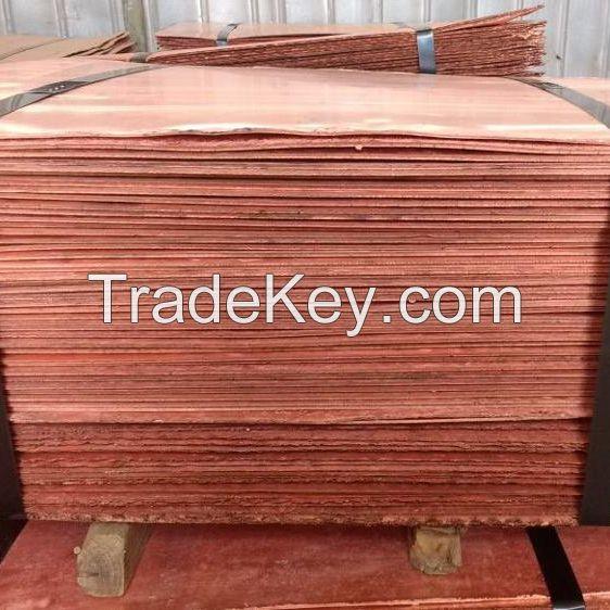 Copper Cathode Plates/Copper Ingot/ Copper Cathode