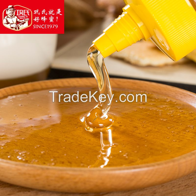 Natural pure raw honey factory product