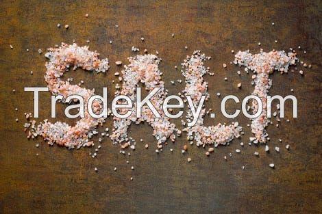 Himalayan Salt, Pink Salt.