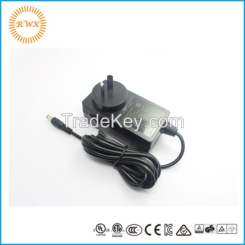 12v 2a ac dc power adapter 24w