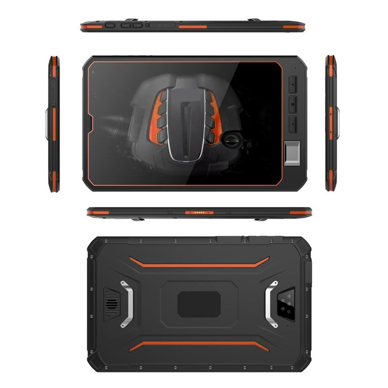 Cheapest Factory Intel Quad-core rugged tablet pc IP68 Waterproof computer Dust proof notebook with NFC Fingerprint module
