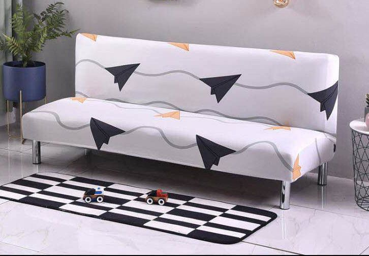 High Quality Home Furniture Printed Knitted Stretch Sofa Cover Case Washable Sofa Cover Stretch Slipcover