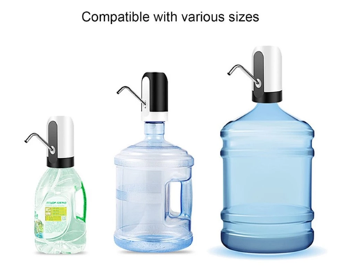 Water Dispenser Water Bottle Pump USB Charging Automatic Drinking Water Dispenser Portable Electric