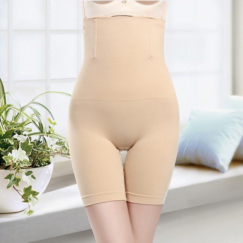 Postpartum High Waist Boxer Abdomen Pants Corset Hip Body Shaping Pants Ms. Five L Panties