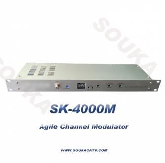High Output Level Agile Modulator For Cable System
