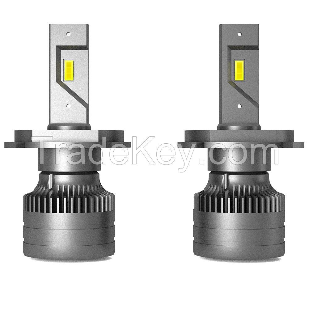 Taida Super Bright 12-24V 36W R4 Car LED Headlight H7 6000K CSP LED Headlamp 4000LM