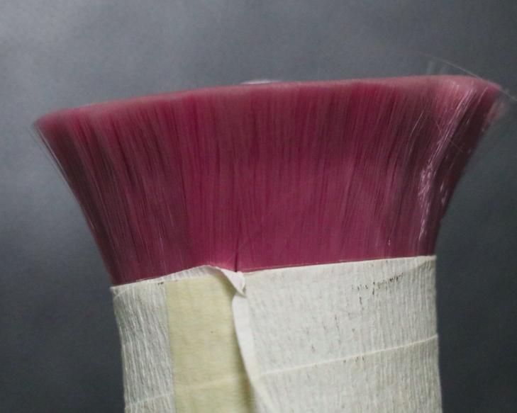 Nylon monofilament for makeup brush
