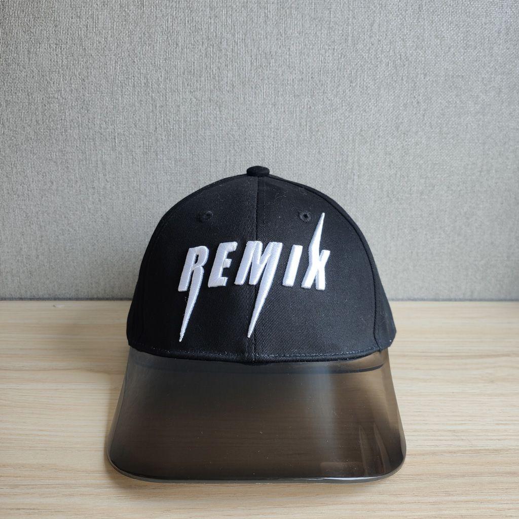 Transparent brim baseball cap
