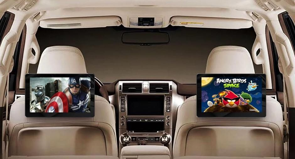 Car 10.8 Inch Rear Seat Entertainment Android OS