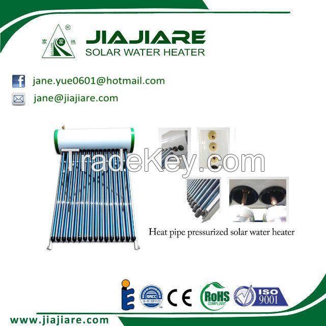 200L Pressure Heat Pipe solar water heater