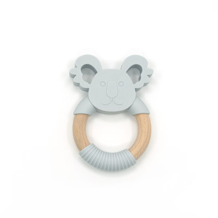 Wholesale Customized Baby Chewable Silicon Ice Cream Teether Bpa Free Teething Toys
