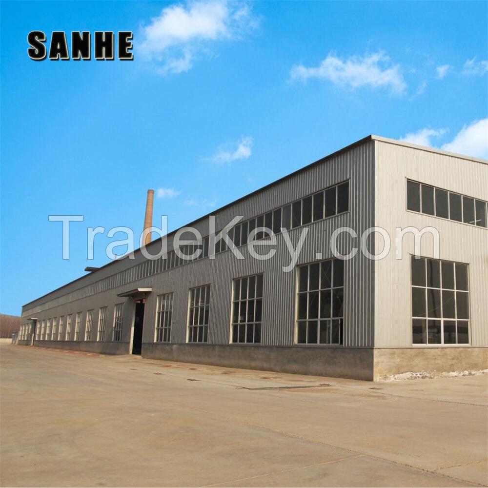 SANHE Custom Design Steel Structure workshop