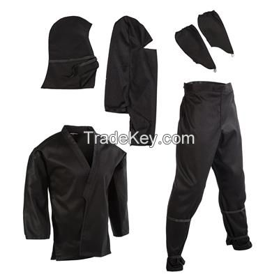 Kung Fu and Ninja suits