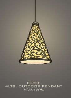 Chandelier and Pendant