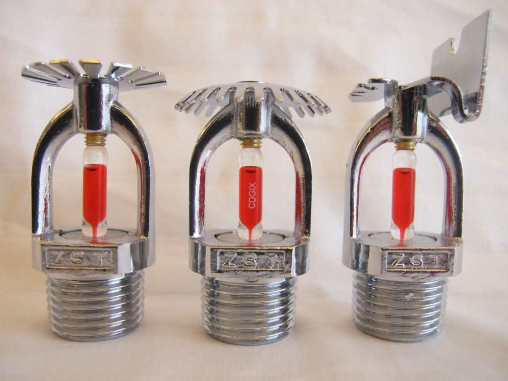 Stainless Steel Sidewall Sprinkler Heads Automatic Fire Fighting Fire Sprinkler System