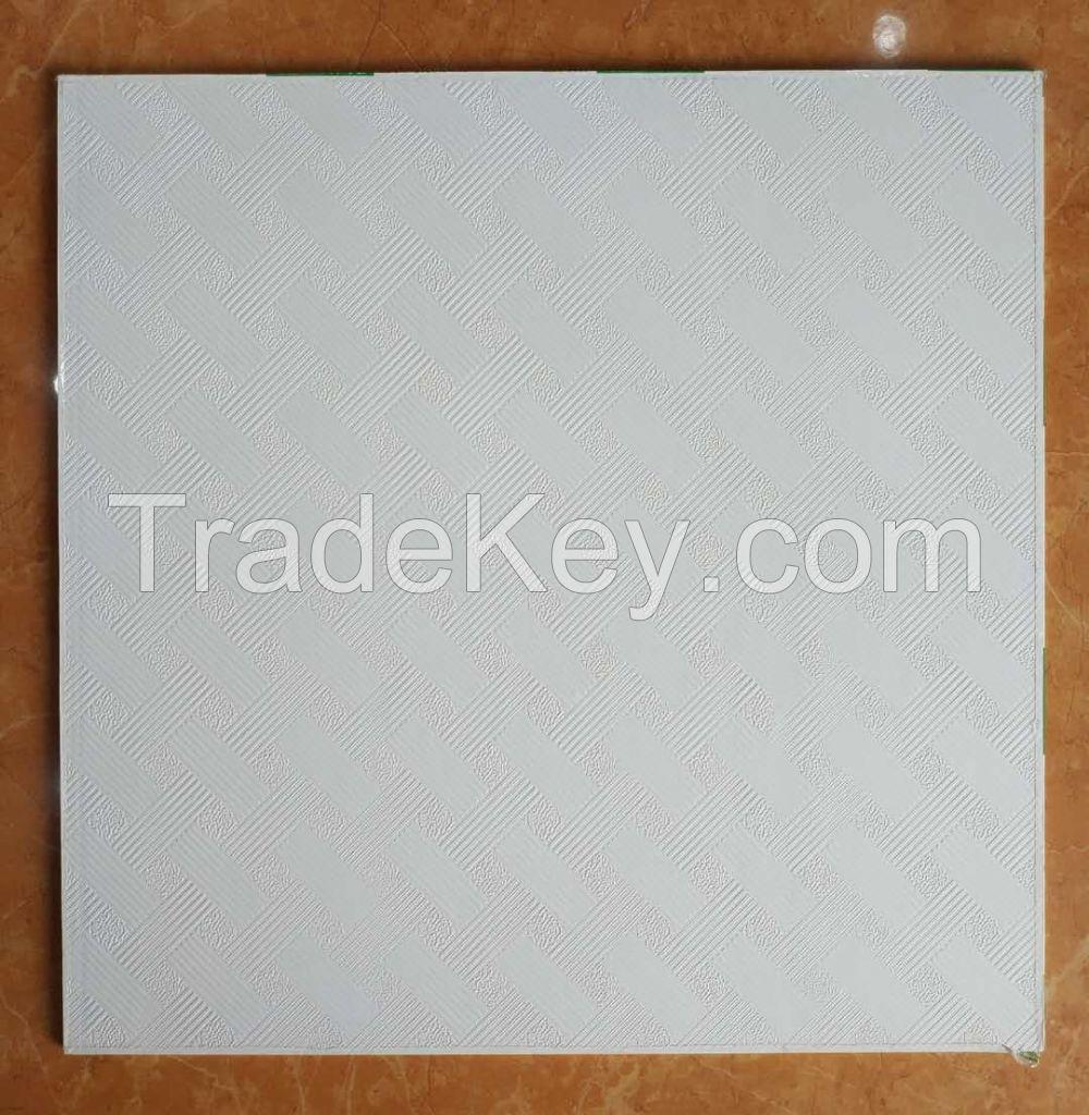 PVC Gypsum Ceiling Tile