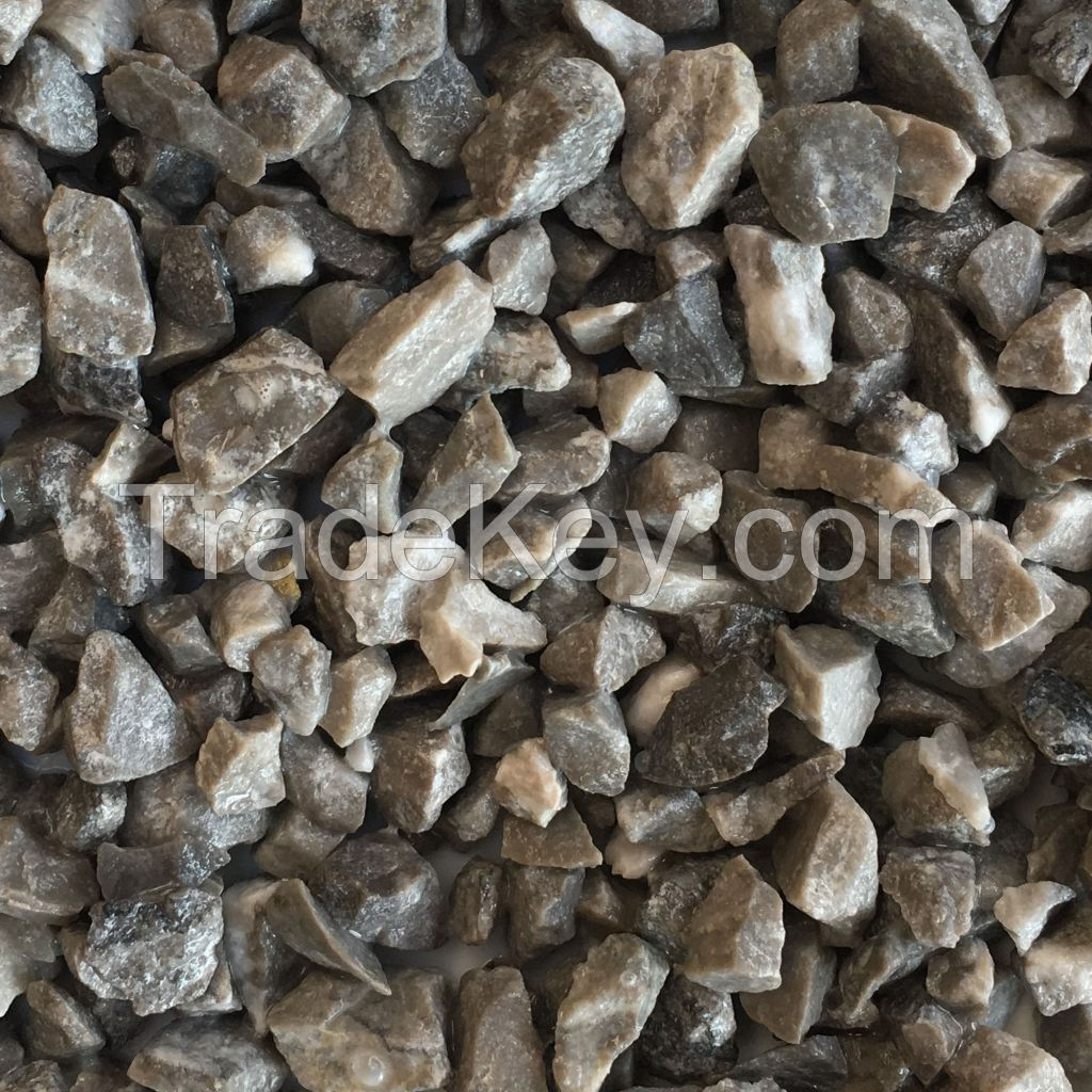 Crushed Grey Marble Stone Chips