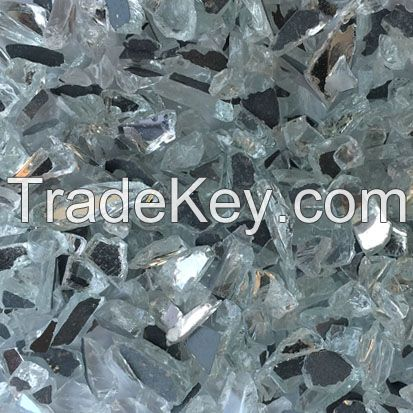Crushed Mirror Glass