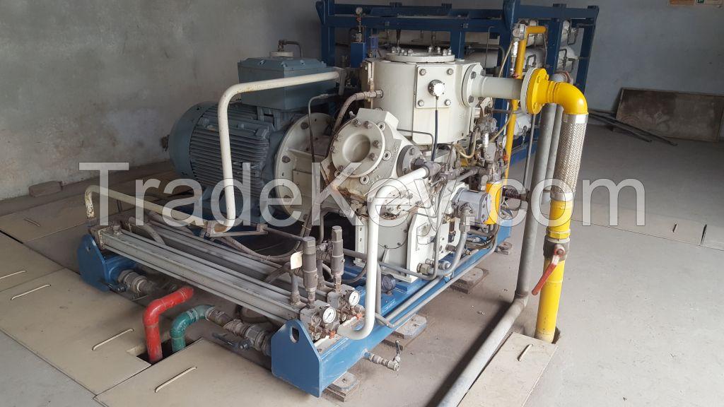 CNG compressor SAFE 380 (Italian) for sale