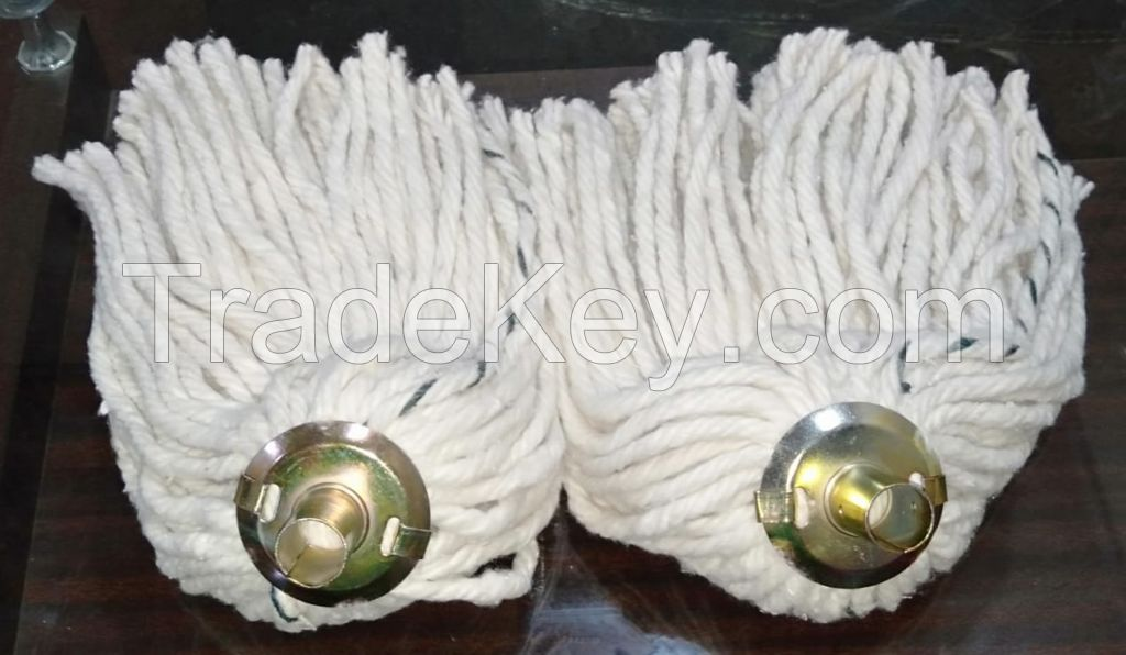 Yacht Mop Head with Golden Socket
