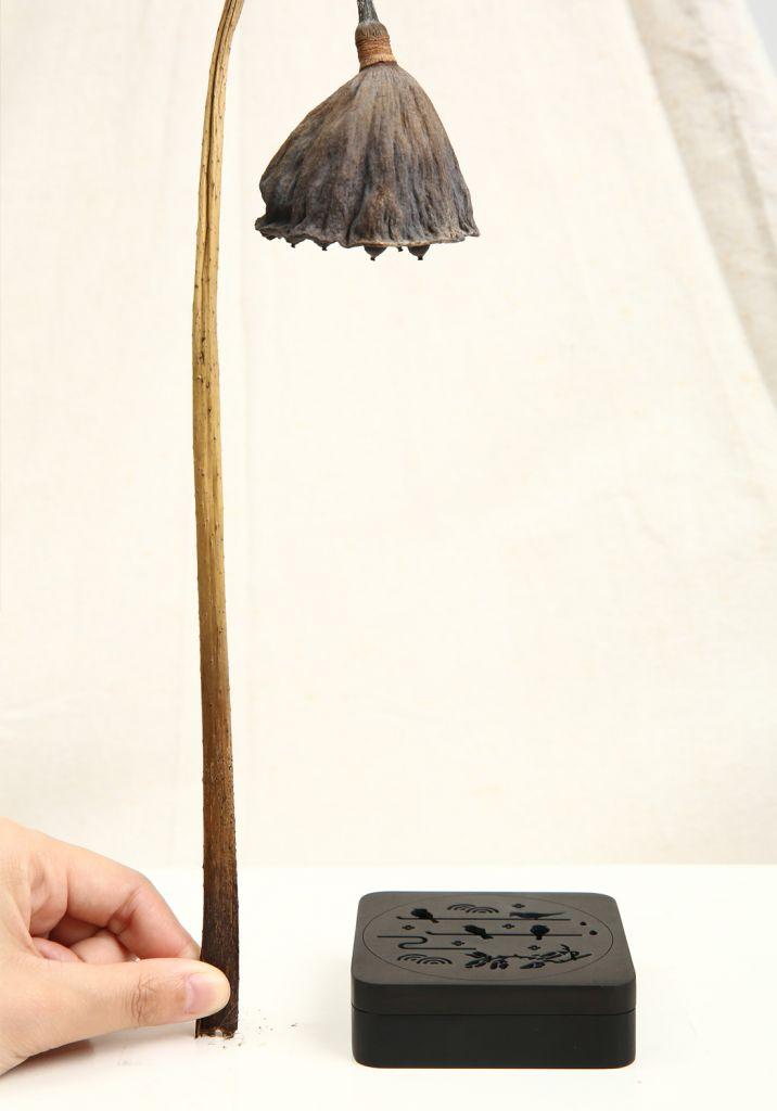 Ebony Antique Aroma Hand Carved Wooden Incense Burner Box Incense