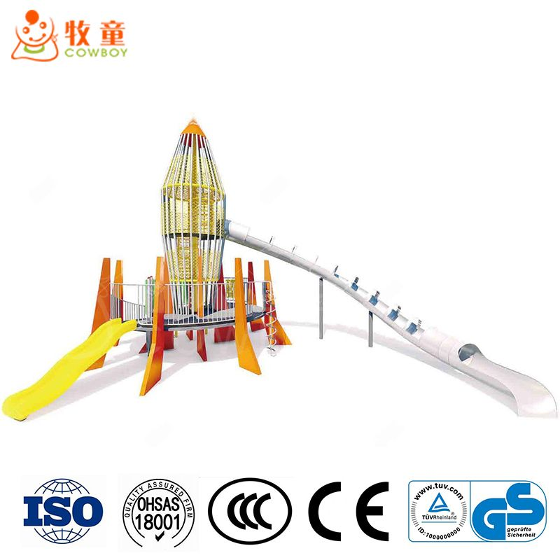 Cowboy Amusement Park Playground Equipment Manufacturer