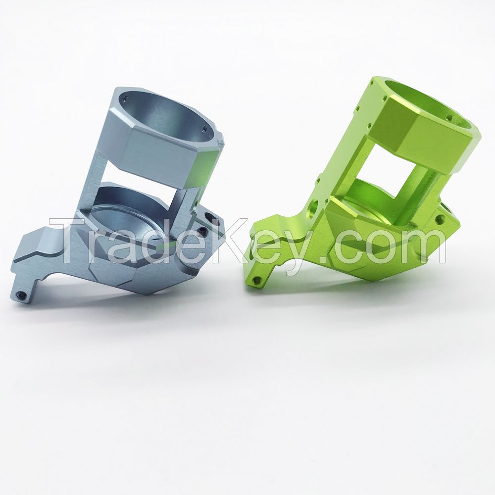 Rapid Prototyping Anodizing 4 Axis CNC Machining Precision Custom CNC Copper Part