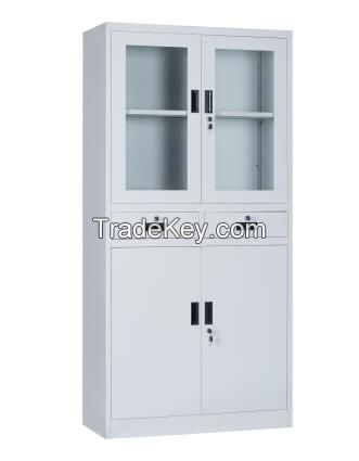 Metal Middle Two Drawers File Cabinet