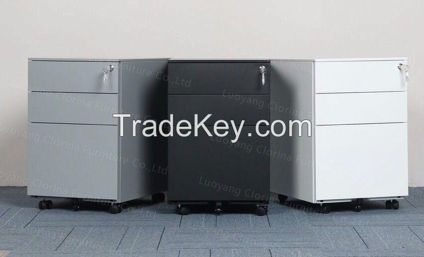 Metal Mobile Pedestal Filing Cabinet