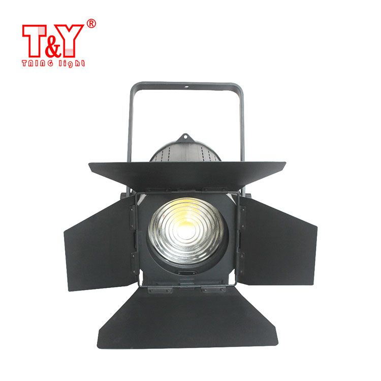 Studio fresnel spot light signle/ bi color dimmable zoomable
