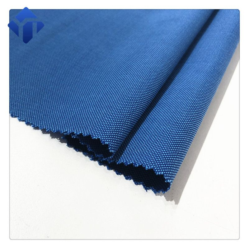 Low price woven worsted wool polyester jacquard fabric for suit