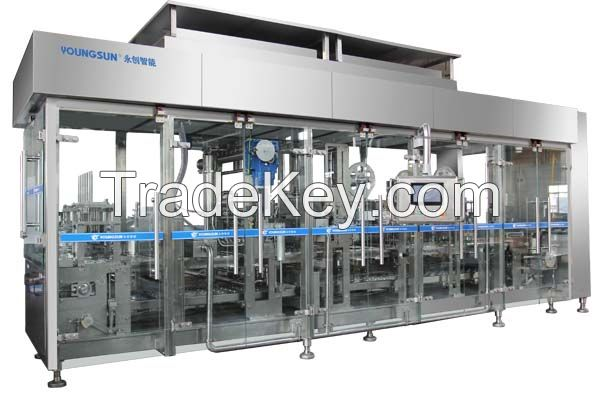 YSZB Youngsun Serial Automatic Plastic Cup Filling and Sealing Machine