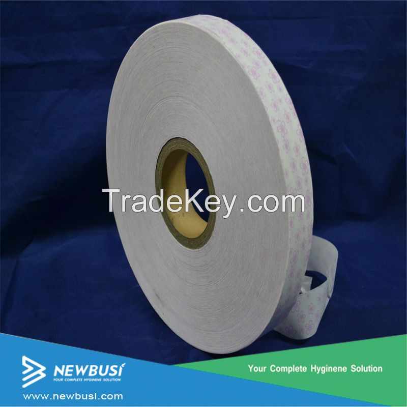 White Silicone release paper for sanitary napkin Hygiene product