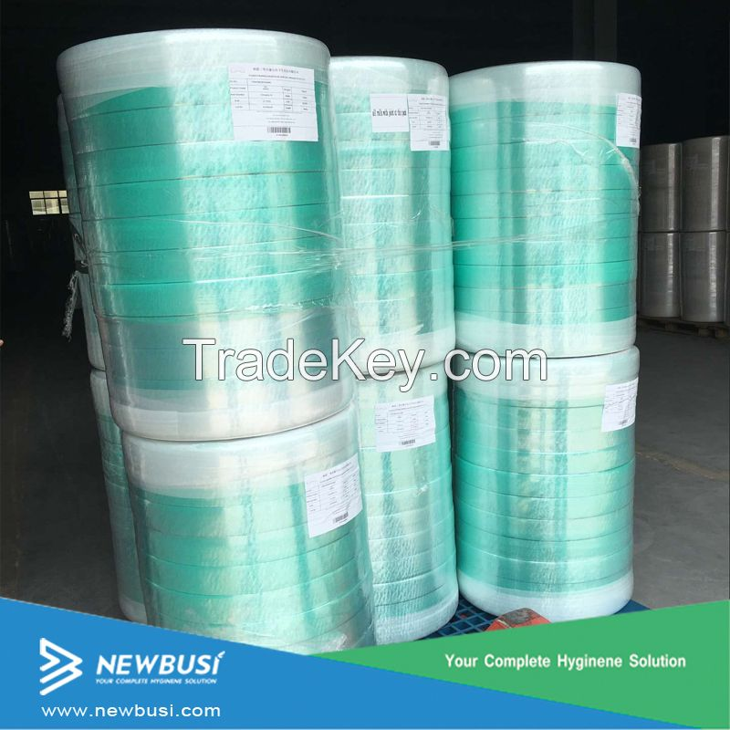 Hydrophilic Green ADL Nonwoven For Baby Diaper
