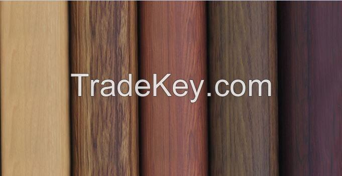 PCV Laminated wood grain film