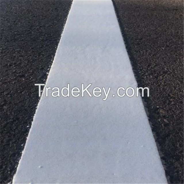 Thermoplastic glow in the dark road marking paint