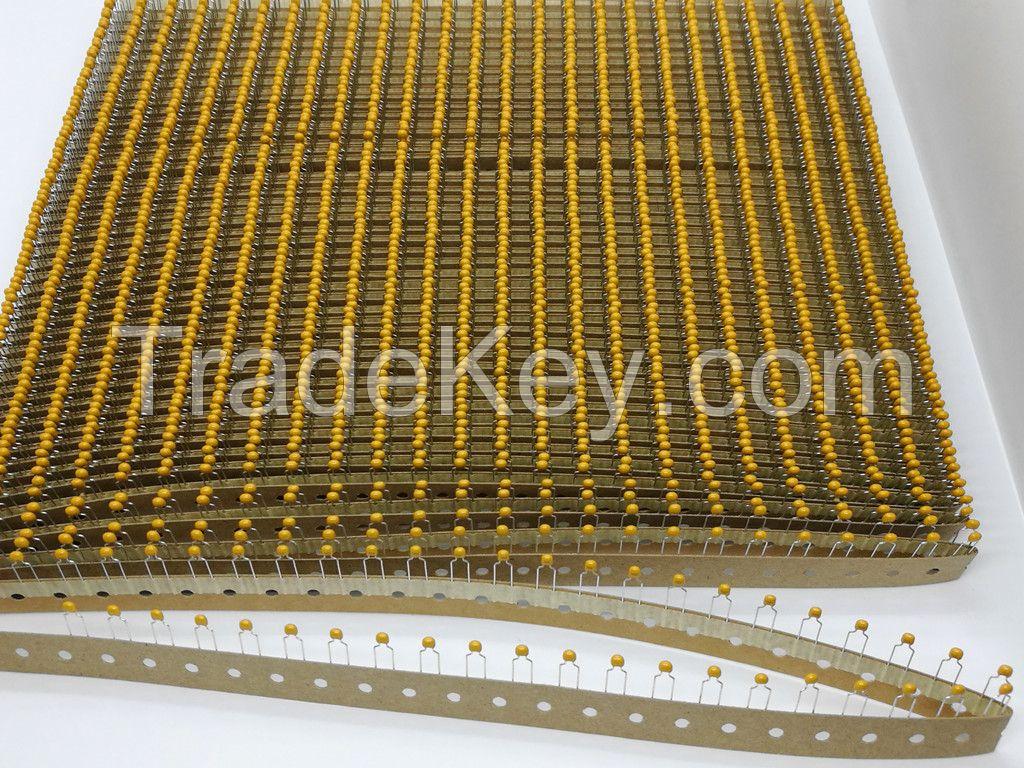 long-lasting self-healing filter monolithic ceramic capacitor